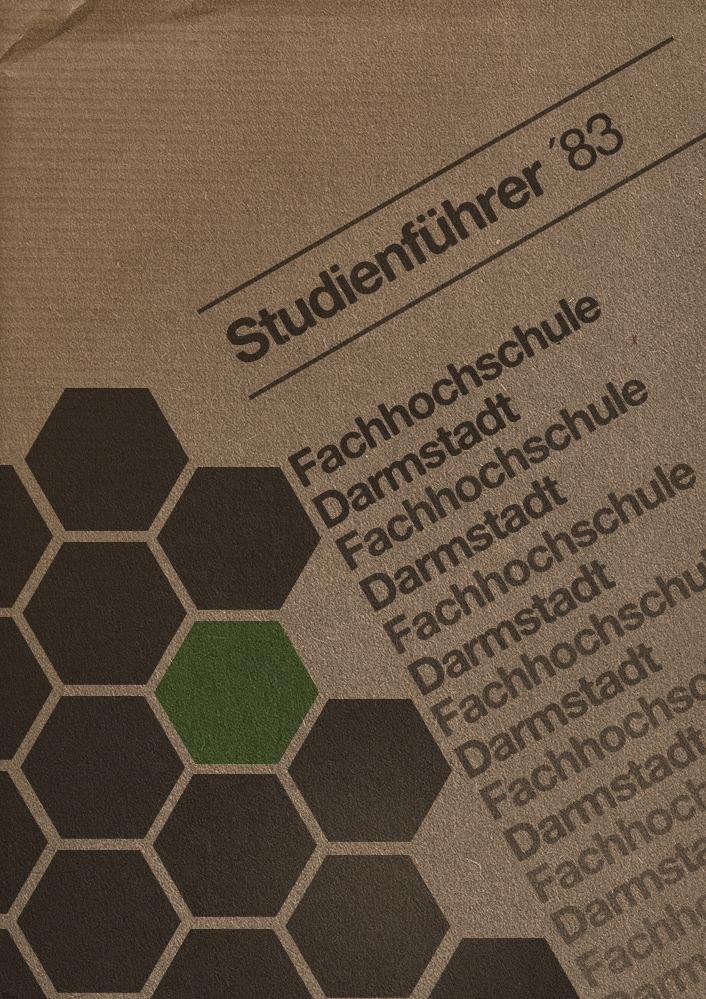 Fachhochschule Darmstadt Studienführer 1983