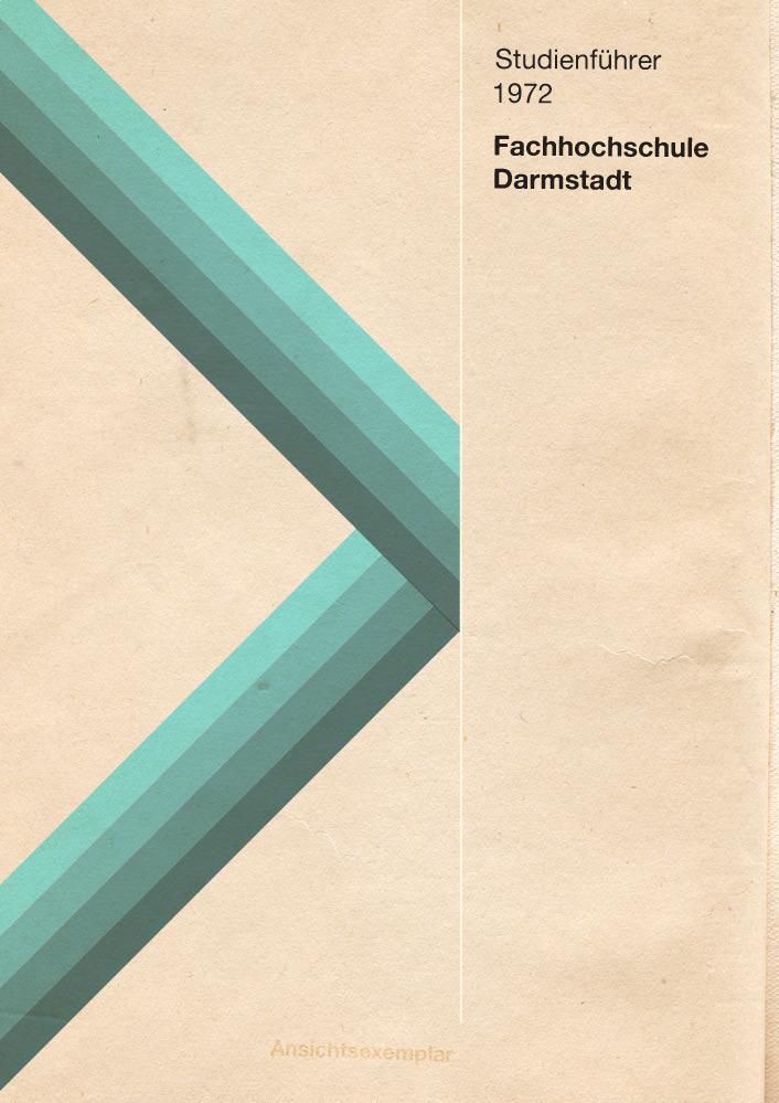 Fachhochschule Darmstadt Studienführer 1972